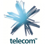 Telecom New Zealand Logo